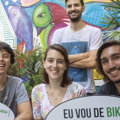 A conexão entre pessoas e bicicletas